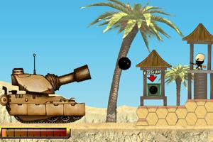 《沙漠坦克风暴》游戏画面1