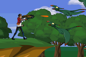 《小雷战恐龙》游戏画面1