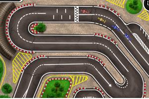 《迷你F1方程式赛车》游戏画面1