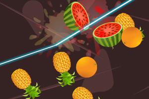 《快速削水果》游戏画面1