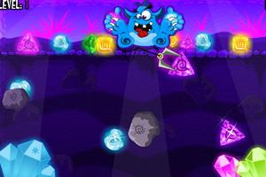 《小怪物挖宝石》游戏画面1