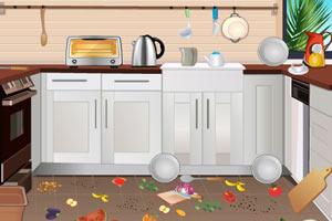 《清洁厨房》游戏画面1