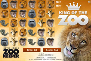 《狮子卖萌对对碰》游戏画面1