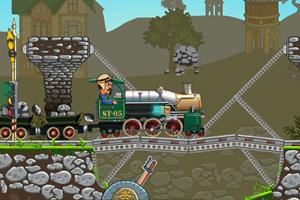 《火车过桥》游戏画面1