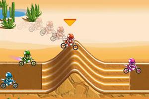 《越野摩托竞速赛修改版》游戏画面1