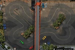 《双人赛车巡回赛》游戏画面1