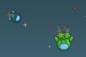 《空中火箭》游戏画面1