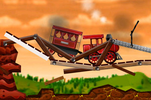 《爆破火车》游戏画面1