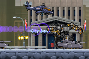 《疯狂机械人2无敌版》游戏画面1
