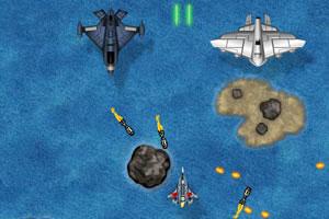 《钓鱼岛大战》游戏画面1