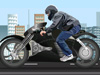 改装蝙蝠侠摩托车
