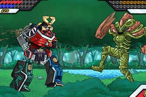 《超级恐龙战队4无敌版》截图1