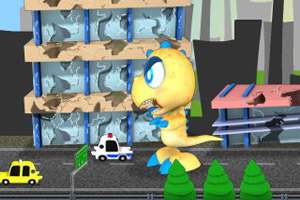 《怪物小恐龙2无敌版》游戏画面1