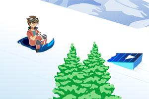 《爆丸小子滑雪》游戏画面1