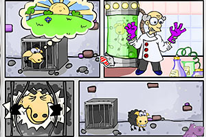 《送小羊多利回家》游戏画面1