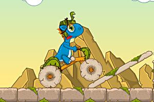 《小恐龙石头城冒险无敌版》游戏画面1