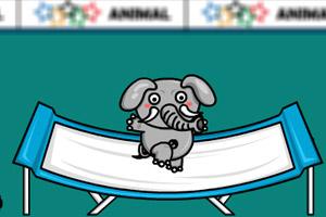 《动物奥运会之蹦床》截图1
