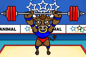 《动物奥运会之举重》游戏画面1