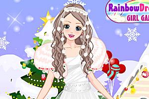 《美丽的圣诞新娘》游戏画面1