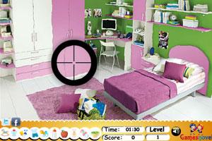 《男孩卧室找东西》游戏画面1