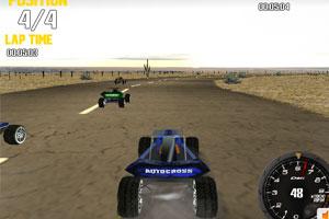 《3D疯狂大脚车》游戏画面1