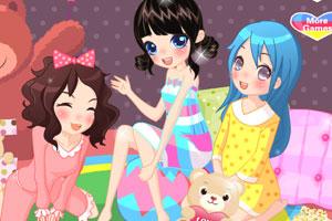 《甜美睡衣女孩》游戏画面1