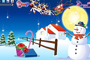 《圣诞节小屋》游戏画面1