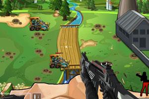 《城墙阻击战》游戏画面1