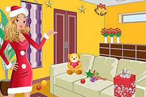 《帮少女找圣诞礼物》游戏画面1