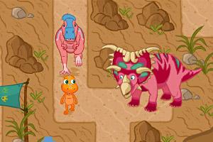 《小恐龙闯迷宫》游戏画面1