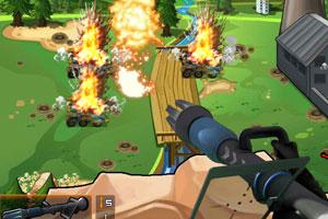 《城墙阻击战无敌版》游戏画面1