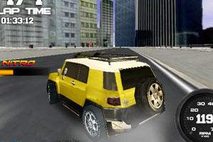 《城市越野吉普车》游戏画面1