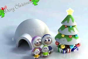 《圣诞风景找数字》游戏画面1