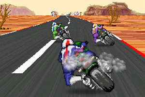 《超级摩托竞速》游戏画面1