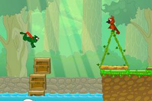 《超级青蛙冒险无敌版》游戏画面1