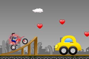 《疯狂摩托特技无敌版》游戏画面1