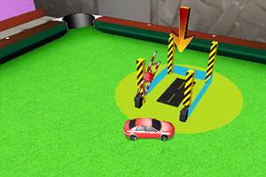 《3D台球桌停车》游戏画面1