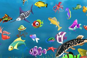 《海底世界找鱼》游戏画面1