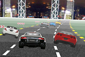 《城市车赛》游戏画面1
