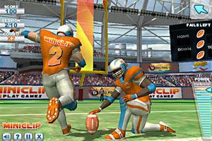 《职业橄榄球3D》游戏画面1