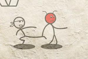 《火柴人街霸5》游戏画面1