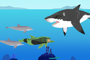 《海豚一日游》游戏画面1