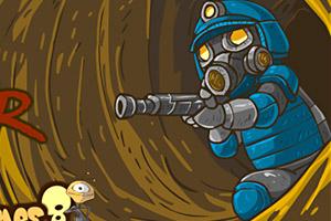 《地下战争》游戏画面1