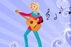 《帮女孩找吉他》游戏画面1
