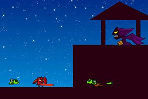 《苹果超人8直捣虫堡》游戏画面1
