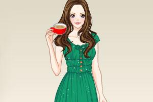 《美女下午茶》游戏画面1