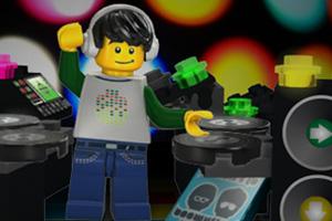 《乐高DJ》游戏画面1