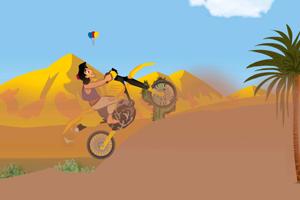 《阿拉丁骑摩托》游戏画面1