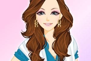 《美丽发型》游戏画面1