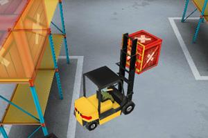 《3D仓库叉车》游戏画面2